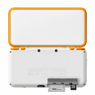 New Nintendo 2DS XL (White-Orangeyellow) 3DS