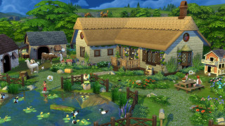 The Sims 4 Cottage Living  PC
