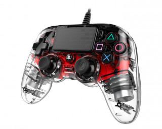 PlayStation 4 (PS4) Nacon Wired Compact Ovládač (červený) PS4