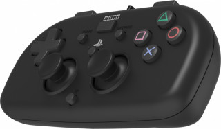 PS4 HoriPad Mini káblový ovládač (čierny) PS4