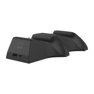 VENOM VS2881 Xbox Series S & X čierna nabíjačka na 2 ovládače + 2 batérie Xbox Series