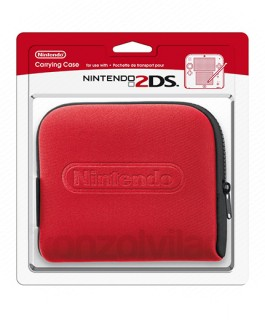 Nintendo 2DS púzdro (červené) 3DS