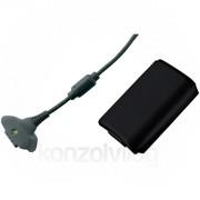 Xbox 360 Play and Charge Kit (Black) (akkumulátor szett) Xbox 360